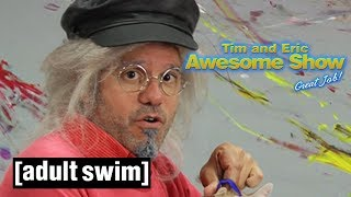 Tim and Eric Awesome Show, Great Job | Pussy Doodles | Adult Swim UK 🇬🇧