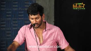 Vishal and Lakshmi Menon at  Naan Sigappu Manithan Press Meet