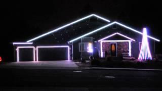 Oh Hanukkah   Flagstaff Christmas Light Show 2014