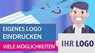 Kofferanhänger: Eigenes Logo eindrucken