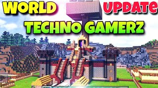 How to Download Techno Gamerz latest Minecraft world on pocket edition