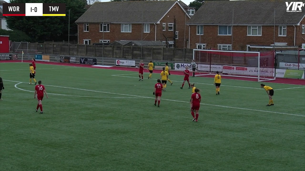 HIGHLIGHTS: Ladies 5-0 Thamesview FC [H] – CUP