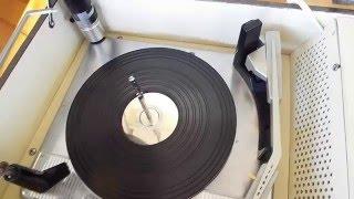 Silvertone Hi-Fi record player