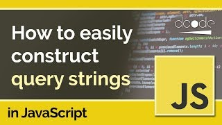 URLSearchParams in JavaScript - Constructing Query Strings