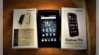 MOBISTEL Cynus T5 - Test / Kundenvorstellung / Erster Eindruck [Dual SIM] HD DEUTSCH