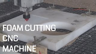Rigid Polyurethane Foam Cutting on CNC Router Machine China