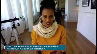 Entrevista Aline Wirley para RecordTV África