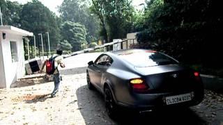 Ferrari F430 & Bentley GT Speed In New Delhi