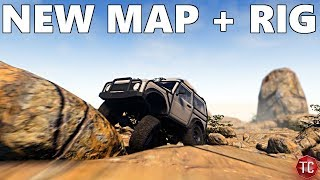Pure Rock Crawling: ExoCaged Samurai + NEW MAP!