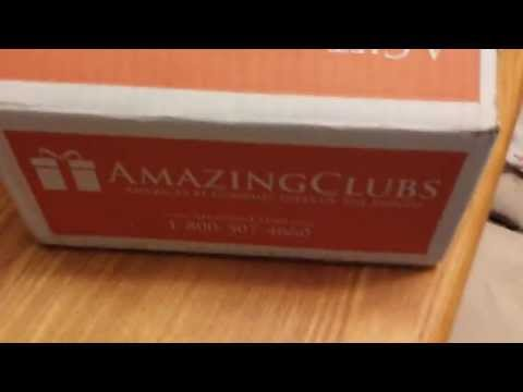 Amazing Clubs Coffee Club Unboxing/Review