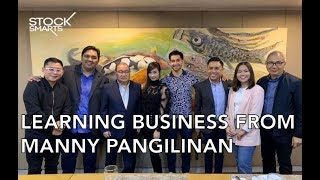 MEETING MANNY PANGILINAN (FT WIL DASOVICH, ALODIA, CHINKEE, MARY BAUTISTA  & CARLO OPLE)