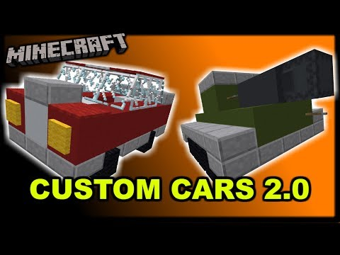 [1.12 Minecraft] Custom Cars 2.0 - One Structure Command