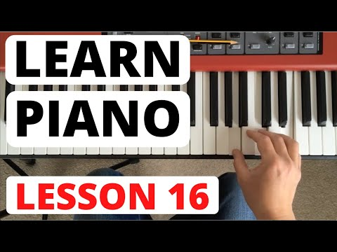 Piano for Beginners, Lesson 16 || Broken chord exercises