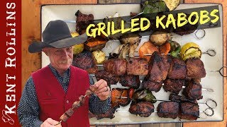 Grilled Kebabs With Tangy Marinade