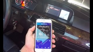 how to install bluetooth aux adapter e60 bmw 5 series iphone 7