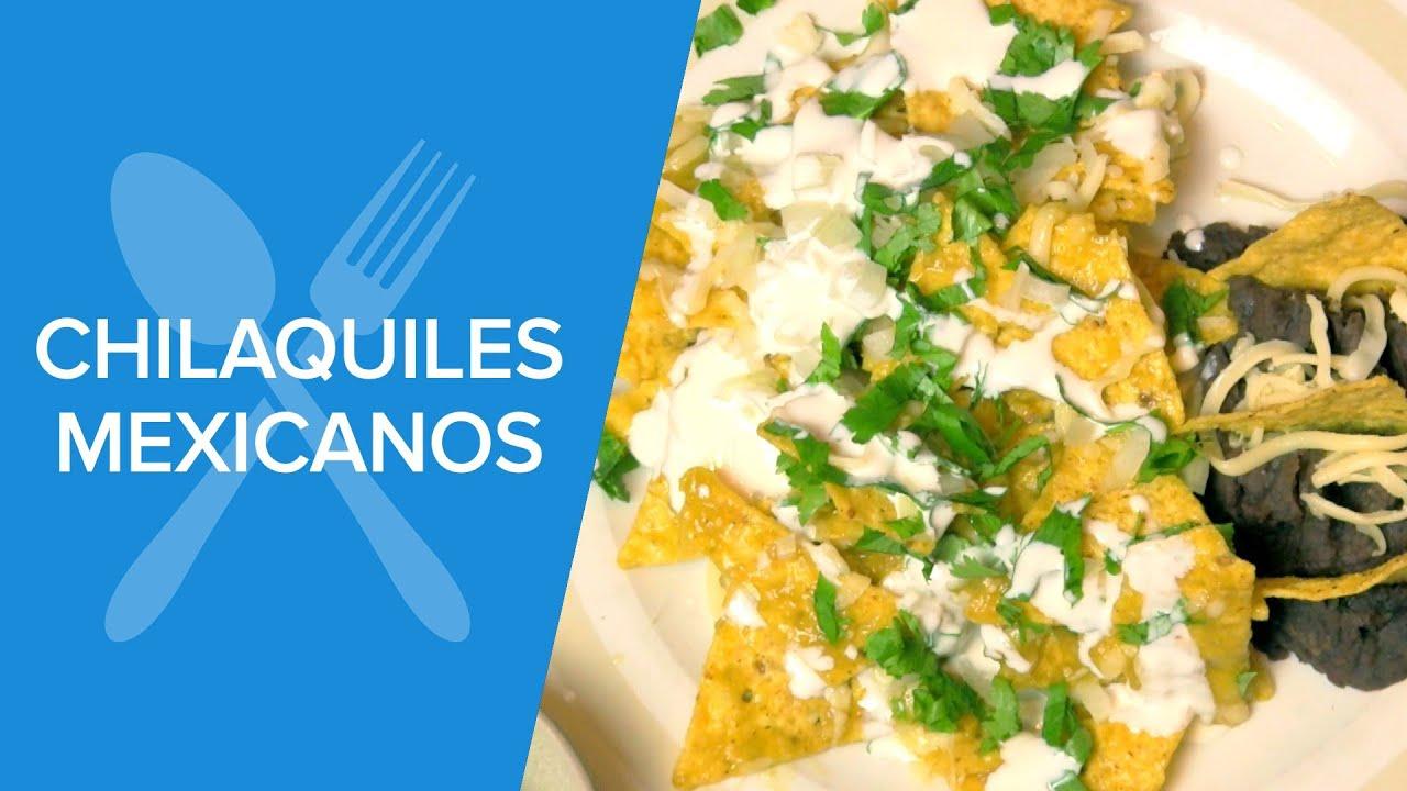 Cómo hacer chilaquiles en 2 minutos | Recetas de México