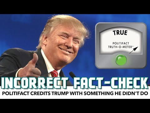 PolitiFact Credits Trump With Something He Didn't Do