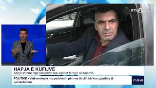 RTK3 Lajmet e orës 17:00 02.06.2020