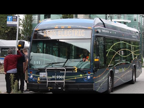 NEW BUS!! Vancouver Translink 2019 NovaBus LFSe - H19302