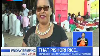 Pishori Rice: Mwea traders up in arms, say unscrupulous traders are to blame for bad business