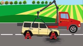 Виды Транспорта для малышей - мультики про машинки