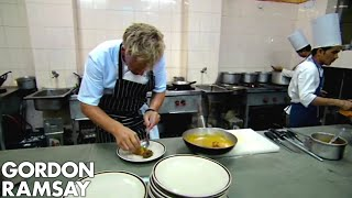 Gordon Ramsay Cooks An Indian Inspired Meal | Gordon's Great Escape