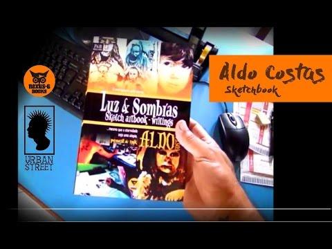 Luz & Sombras Sketchbook Aldo Costas - livro