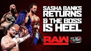 SASHA BANKS AND HER BLUE HAIR RETURN TO WWE! | WWE Raw August 12, 2019 Full Show Review & Highlights