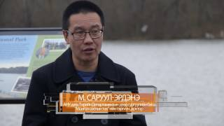 UMON TV-iin Amerik Hemnel Nevtruuleg M. Saruul Erdene ANU Dahi Mongol Soyoliin Tuviin Terguun