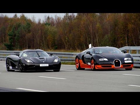 Bugatti Veyron Vitesse 'tử chiến' Koenigsegg Agera R