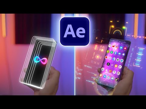 after effects tutorial  augmented hologram phone vfx tutorial by ignace aleya