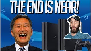 Sony CEO Tweets Playstation 4 is coming to end??..!! Explained in HINDI