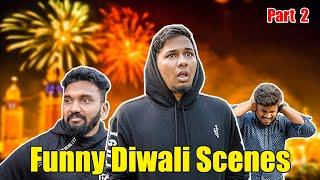 Funny Diwali Scenes Part 2 | Hyderabadi Comedy | Warangal Diaries