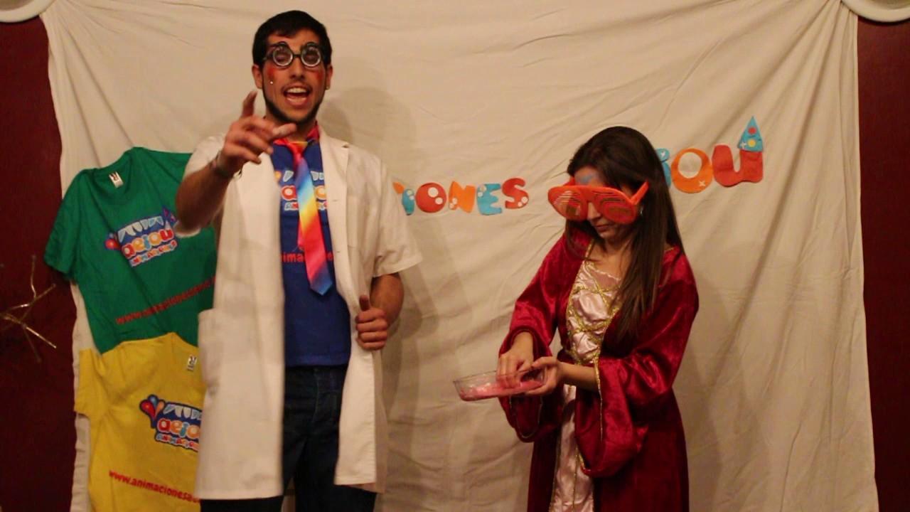 Experimentos científicos para fiestas infantiles y cumpleaños con ciencia divertida