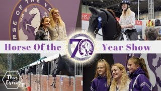 Horse Of The Year Show 2018   HOYS Vlog   This Esme