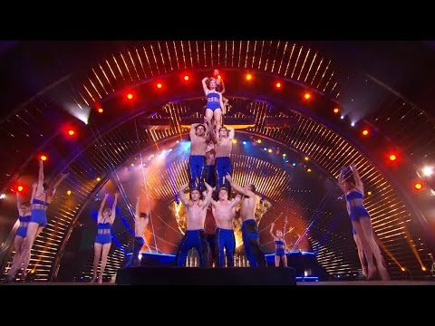 A Brilliant Acrobatic Performance by AcroArmy