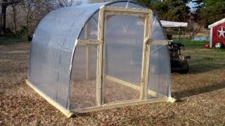 Greenhouse (DIY   For About 150 DOLLARS!)