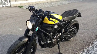 Yamaha XSR 700 GPR Deeptone Rizoma Spy R Mirror Wilbers Super7 And