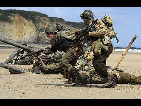 Вторая Мировая в цвете. Операция Оверлорд. 9 Часть --- Operation Overlord