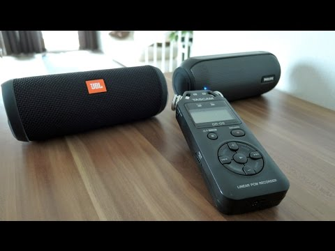 JBL Flip 3 vs. Philips BT6000 soundcheck - the REAL comparison