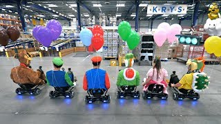 Mario Kart Ballons En Vrai