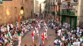 preview picture of video 'Danzantes de Huesca, 10 de agosto de 2014'