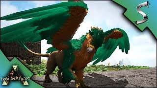 BABY GRIFFINS AND MUTATED GRIFFIN!   Ark: RAGNAROK [DLC Gameplay