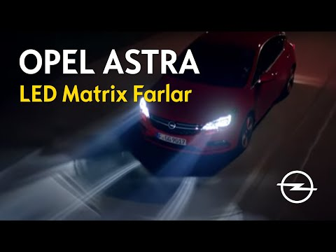 Yeni Astra - LED Matrix Farlar