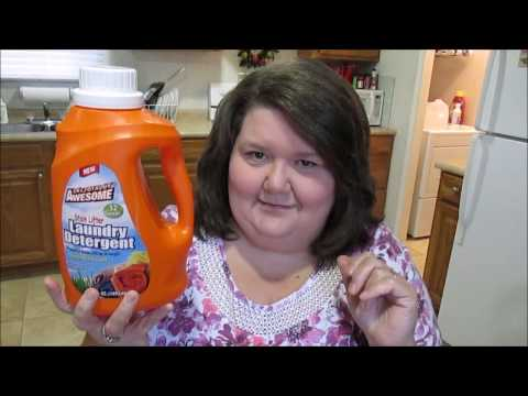 Dollar Tree Review ( LA  Totally Awesome Laundry Detergent)