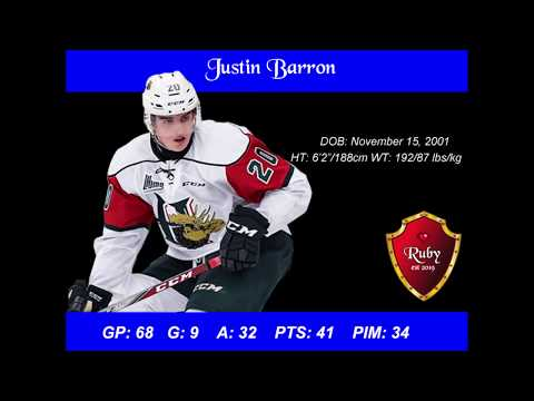 Justin Barron Scouting Report