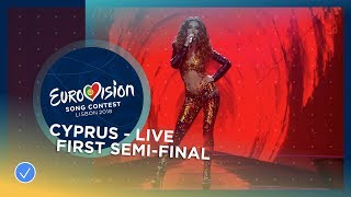 Eleni Foureira - Fuego - Cyprus - LIVE - First Semi-Final - Eurovision 2018
