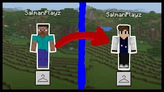 MCPE 1.2 | HOW TO CHANGE YOUR SKIN (glitch fixed)