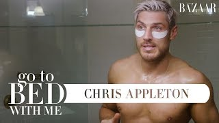 Chris Appleton's Nighttime Skincare Routine | Go To Bed With Me | Harper's BAZAAR