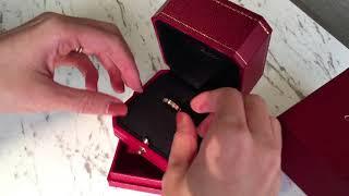 入門款珠寶特輯:Cartier Love系列【編輯開箱】